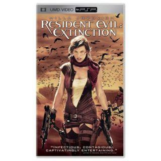 Resident Evil Extinction 2007 UMD Video for PSP