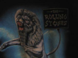 The Rolling Stones Bridges to Babylon T Shirt L 1997