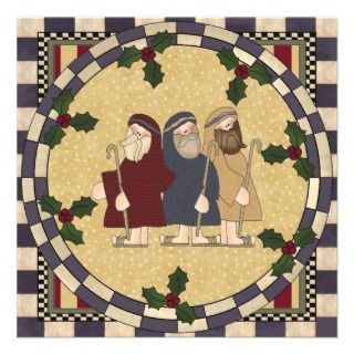 Three Wise Men Christmas Party Invitation