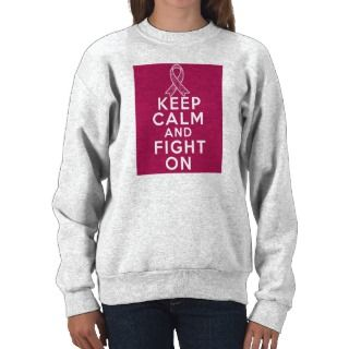 Sickle Cell Anemia Keep Calm and Fight On Pull Over Sweatshirt