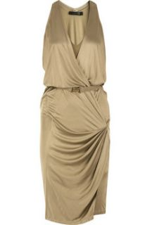 Donna Karan Liquid satin jersey dress