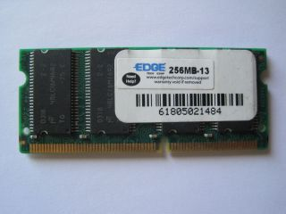 256MB PC133 Memory IBM Sony HP Dell Laptop RAM 48LC16M16A2