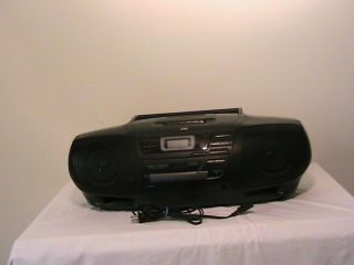 JVC RC X540 Portable CD System Boom Box