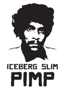 iceberg slim t shirt black power funk hip hop panthers malcolm x pimp