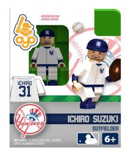 Ichiro Suzuki OYO Mini Fig Figure Lego Compatible New York Yankees NIP