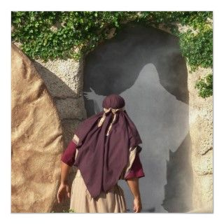 Jesus Resurrection the Tomb Easter Poster Art created by Artist