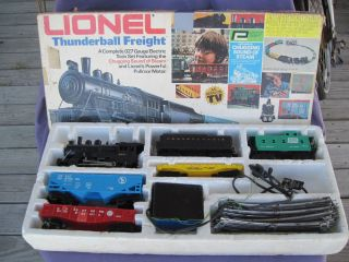 Lionel Thunderball Freight 027 Gauge Electric Train Set Boxed 1970