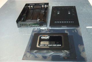 OCZ Vertex 2 120GB SATA II Solid State Drive Plus Icy Dock