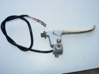 GT380 Front Brake Lever Perch and Front Brake Switch 1972 GT 380
