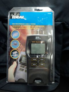 Ideal Industries VDV Multimedia Cable Tester New in Package 33 856 New