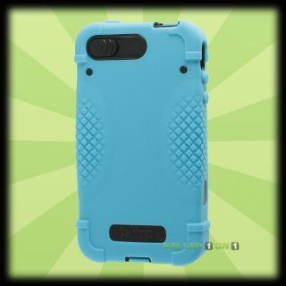 iFrogz BullFrogz Case For Apple iPhone 4S 4 Rugged Blue Black Shell