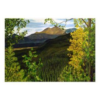 Estes Park Oil Landscape Painting Invite