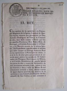 1799 King CARLOS IV & CONSEJO de INDIAS Iglesia en America & Filipinas