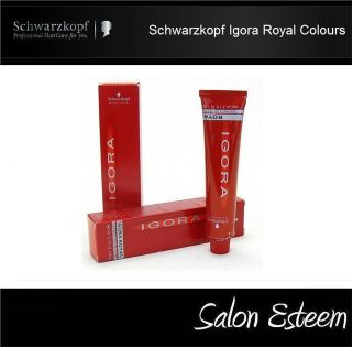 Schwarzkopf Igora Colour Royal Permanent Hair Color 60ml