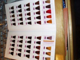 Schwarzkopf Igora Viviance Hair Color Chart Swatch