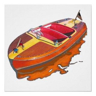 Chris Craft Riviera Print