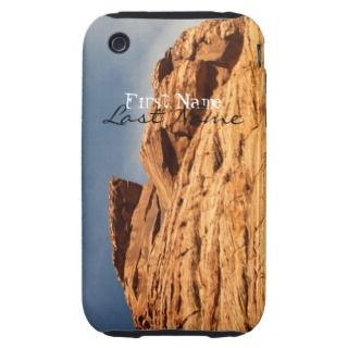 Red Shelf of Rock; Cusomizable iPhone 3 ough Covers
