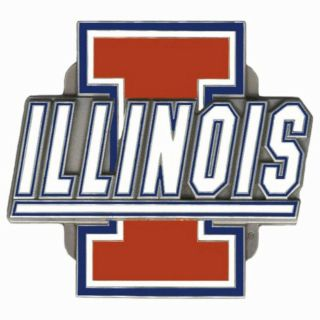 Illinois Fighting Illini NCAA Team Logo Trailer Hitch Cover