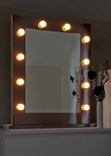 Illuminaed Hollywood Make Up heare Dressing Room Mirror J3
