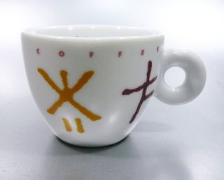 1992 Illy Collection Matteo Thun Mysterious Coffee Espresso Cup