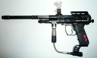 Spyder Imagine Paintball E Marker LED 3 Shot Burst Full Auto Semi Auto