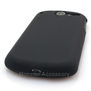 Rubberized Hard Case Snap on Cover for Huawei Impulse 4G at T