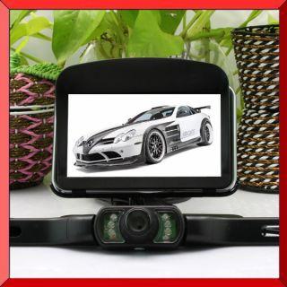inch Sunshade Bluetooth AV in Car GPS Navigation 8g World Map