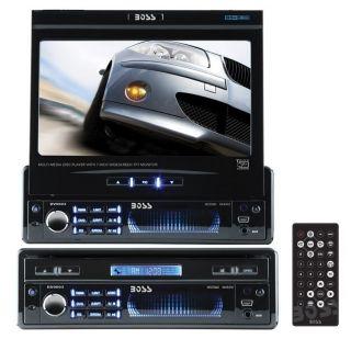 New Boss BV9993 7 Touchscreen in Dash DVD CD Car Player USB SD Aux