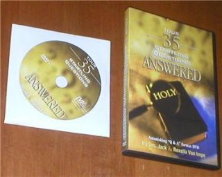 35 Startling Questions Answered DRS Jack Rexella Van Impe DVD
