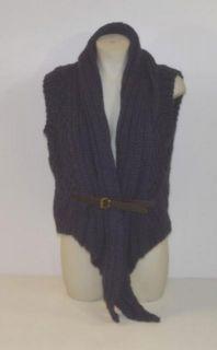 Improvd Size Medium Dark Blue Sweater Vest BIKI1012