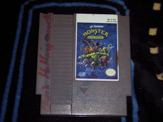 Monster in My Pocket Nintendo NES Used Game Only