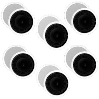 12 Pcs New Home Theater 8 in Ceiling in Wall Surround Speakers 6TS80C