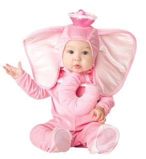 Pink Elephant Designer Child Toddler Costume Medium 12 18 Months
