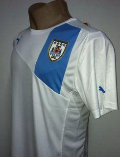 Original 2012 Uruguay Away Soccer Jersey
