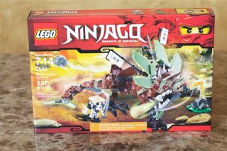 Lego Ninjago 2509 Earth Dragon Defense in Hand Factory SEALED Box