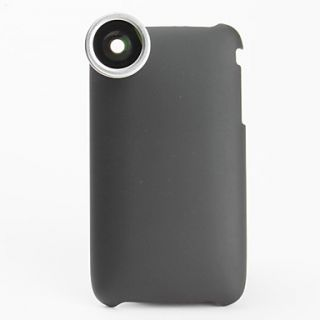 USD $ 28.99   0.28x Fish Eye Thread Lens with Back Case for iPhone 3G