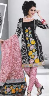 Salwar Kameez Indian Suits Designer Printed Cotton Fancy Bollywood