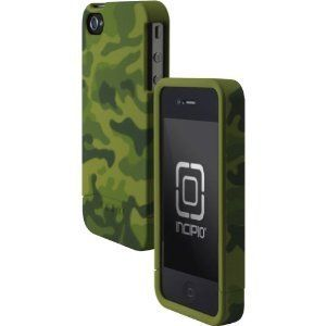Incipio EDGE Hard Slider Shell Case for Apple iPhone 4 4S Olive Green