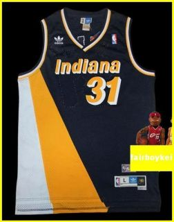 Indiana Pacers Reggie Miller Classic Navy 2 Jersey