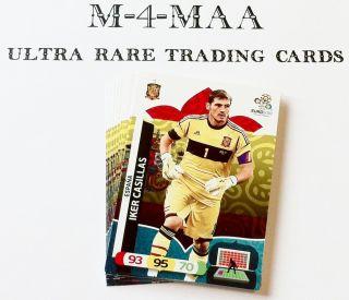 Choose Individual Espana Base Cards Panini UEFA Euro 2012 Adrenalyn XL
