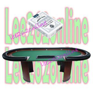 drop box green royal plastic jumbo index playing cards silver