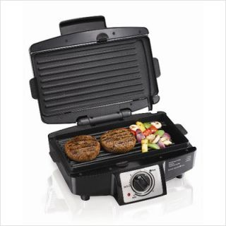 Hamilton Beach Easy Clean Indoor Grill 25332