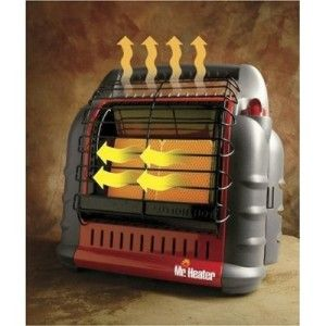 Mr. Heater Big Buddy Indoor Safe Portable LP Gas Propane Heater 18,000