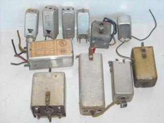 Lot of 11 Vintage Radio TV Variable Inductors Tuners