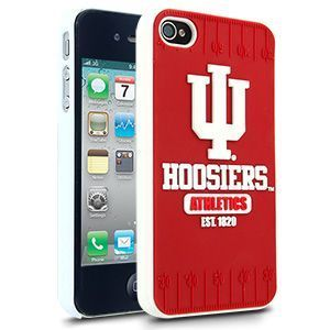 iPhone 4 4S Indiana Hoosiers Faceplate Protective Hard Case Cover NCAA