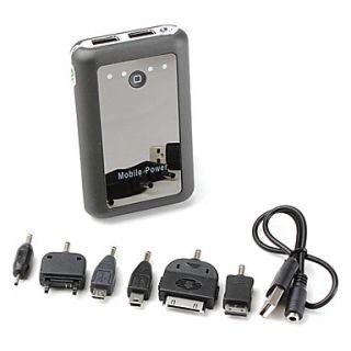 EUR € 41.39   8400mah batteria esterna con luce led per iphone, ipad