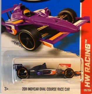 Hot Wheels 2013 HW Racing 2011 IndyCar Oval Race Car C Case