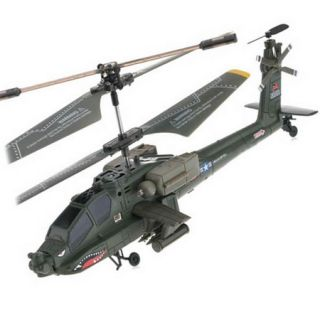 Syma S109G 3 5CH Infrared Control Indoor Mini RTF Apache RC Helicopter