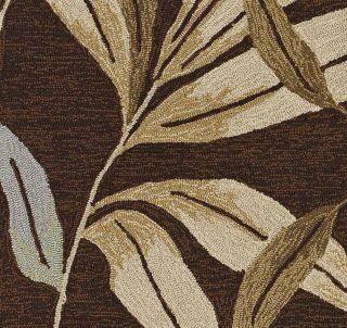 Indoor Outdoor Modern Carpet Big Area Rug Kitchen Terrace Chocolate