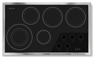 Scratch Dent Electrolux Stainless Steel 36 Inch Full Induction Cooktop